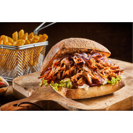 Pulled Pork Burger mit...
